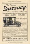 1907 ca. Darracq The Victorious THE POPULAR MAGAZINE ADVERTISER 6.5″×9.25″ Geo