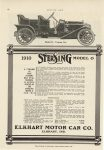 1910 IND ELKHART 1910 STERLING MODEL O MOTOR AGE ad 8″×11.5″ Geo page 68