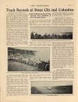 1913 8 CASE CHALMERS DISBROW Track Records at Sioux City and Columbus article THE MOTORIST 10.5″×13.75″ Geo page 18