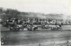 1913 ca. Unknown auto race maybe CASE Jay-Eye-See on left back Geo 13.5″×9″ xerox