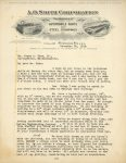 1918 12 28 A. O. SMITH CORPORATION AUTOMOBILE PARTS letter 8.25″×11″ Geo