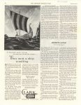 1937 1 16 They sent a ship a sailing CLARK GRAVE VAULTS THE SATURDAY EVENING POST 10.75″×13.75″ Geo page 82