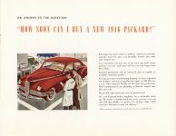 1946 THE NEW 1946 PACKARD CLIPPER catalog 11″×8.5″ Geo Inside back cover