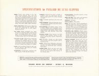 1946 THE NEW 1946 PACKARD CLIPPER catalog 11″×8.5″ Geo page 12