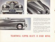 1946 THE NEW 1946 PACKARD CLIPPER catalog 11″×8.5″ Geo page 6