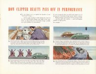 1946 THE NEW 1946 PACKARD CLIPPER catalog 11″×8.5″ Geo page 9